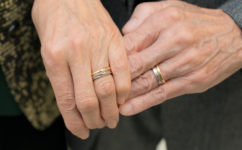50年前と50年後の結婚指輪