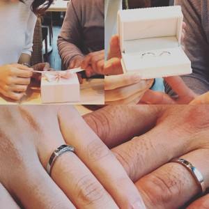 結婚指輪納品